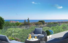 Cheap 1 bedroom apartments for sale in Antibes. Bright apartment with spacious terrace in a new residence Antibes, Côte d'Azur, France