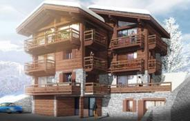 Development land for sale in France. Building land with a project of chalet, Courchevel 1850, Savoie, France