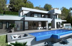 Houses with pools for sale in Benissa. Comfortable modern villa with a terrace, Benissa, Spain