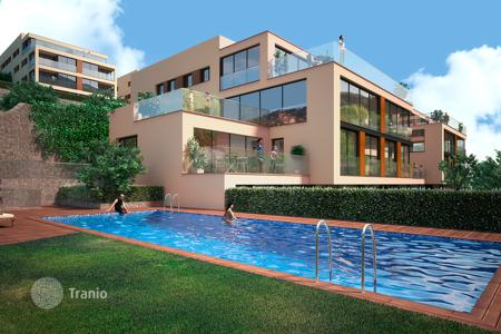 Apartments with pools from developers for sale in Alella. New home – Alella, Catalonia, Spain