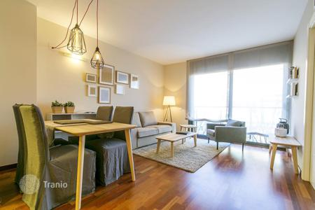 New homes for sale in Barcelona. Two bedroom furnished apartment in a new building, the district of Sant Andreu, Barcelona