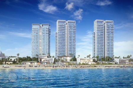 Coastal apartments for sale in Haifa District. The new project of the residential complex 200 meters from the sea on the first line in Hadera, Israel
