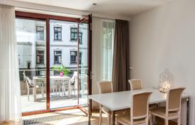 Residential for sale in Latvia. Two bedroom apartment with a terrace and a parking in new building in a walking distance from The Old Town