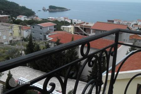 Coastal houses for sale in Montenegro. Four-storey house with sea view in Bar
