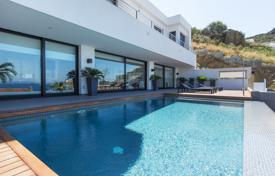 Luxury property for sale in Roses. Designer villa with a lift, a pool and a terrace, near the beach, Roses, Spain