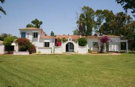 Luxury houses with pools for sale in San Pedro Alcántara. Villa in Andalusian style next to the beach in San Pedro Alcantara, Costa del Sol, Spain