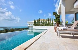 4 bedroom villas and houses to rent in Ko Samui. Luxury villa overlooking the sea in 5 minutes from the beach in Koh Samui, Thailand