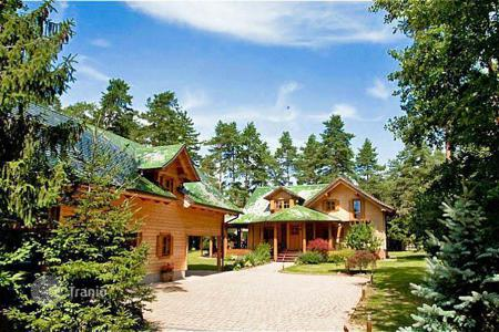 Property for sale in Breg pri Polzeli. This is a unique, beautiful log cabin style house in this popular residential area, with separate guest house accommodation