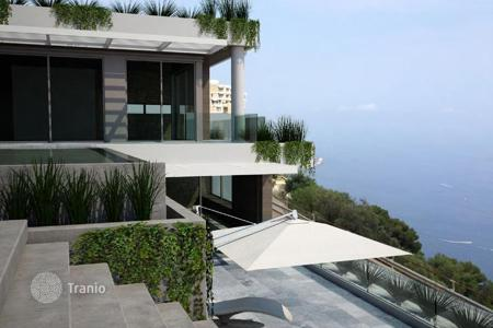Houses with pools for sale in Roquebrune - Cap Martin. Project villas with panoramic views of Monaco to Roquebrune-Cap-Martin