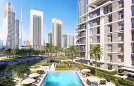 3 bedroom apartments from developers for sale overseas. Elite apartment with a balcony in a residence with a fitness center and a pool, Dubai, UAE