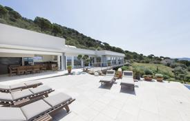 Luxury 5 bedroom houses for sale in Costa Brava. Modern villa with a pool, a terrace and a summer kitchen, overlooking the sea, in a prestigious area, Pau, Spain