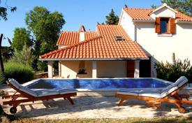 3 bedroom houses for sale in Split-Dalmatia County. Spacious villa with a private garden, a pool, a barbecue, a terrace and a sea view, Brac, Croatia