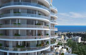 New homes for sale in Kyrenia. Spacious three-bedroom apartment in a new complex in the center of Kyrenia