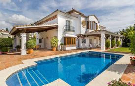 Coastal property for sale in Marbella. Elegant villa 300 meters away from the sea in Marbella, Costa del Sol, Spain