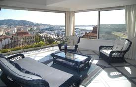 Luxury townhouses for sale in France. Townhouse with a garage and panoramic sea views, Cannes, France