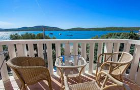 6 bedroom houses for sale in Croatia. Furnished villa with a plot, terraces and a sea view, Pirovac, Croatia
