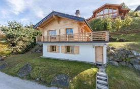3 bedroom houses for sale in Alps. New chalet with a fireplace, a terrace and mountain views, in a quiet resort area, Nendaz, Swiss Alps