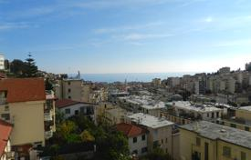 Cheap residential for sale in Liguria. Apartment with large terrace sea view