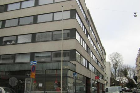 Commercial property for sale in Finland. Commercial area and commercial storage on the first floor of a residential complex, in the city center, Helsinki, Finland