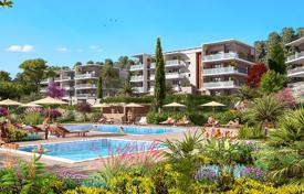 Property for sale in France. Luminous apartments with different layouts in a new residence with a swimming pool close to the beaches, Villeneuve-Loubet, France