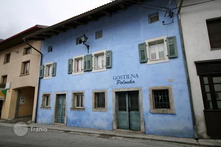 Property for sale in Tolmin. This a wonderful old house and restaurant for sale in the famous village of Kobarid (Soca)