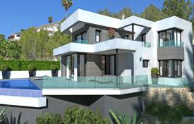 3 bedroom houses for sale in Benissa. Modern luxury villa with a large garden, a pool and panoramic views, Benissa, Spain