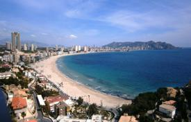 Apartments with pools by the sea for sale in Benidorm. Modern style apartment in Benidorm