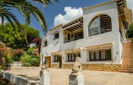 3 bedroom houses for sale in Benissa. Spanish-style villa with a large plot, a garden and a swimming pool, Benissa, Spain