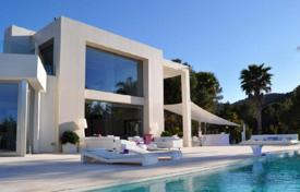 Unique villa with a pool and views of Ibiza and the surrounding bays, San-Jose, Ibiza, Spain for 44,000 € per week