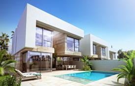 Off-plan residential for sale in Spain. Villa with a spacious terrace and pool in a new residential complex in the center of Albir, Benidorm, Spain