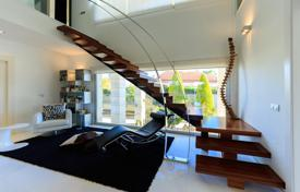 Residential for sale in Valencia. Furnished villa in Orihuela, Spain. Elegant house with an elevator, a pool, a solarium and a panoramic sea view