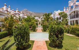 Spacious apartment with a garage and a terrace in a residential complex with a garden and swimming pools, Sierra Blanca, Spain for 550,000 €