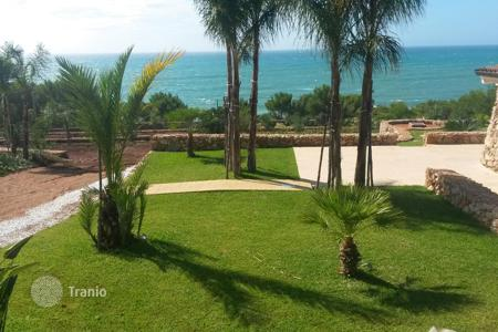 Off-plan houses for sale in Southern Europe. Villa with terraces, a trullo guest house, and a garden, at 100 meters from the sea, Santa Maria di Leuca, Italy