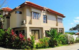 Townhouses for sale in Southeastern Asia. Townhouse with sea views, surrounded by tropical gardens, close to the island's best beach of Chaweng Noi, Thailand. The house can be rented