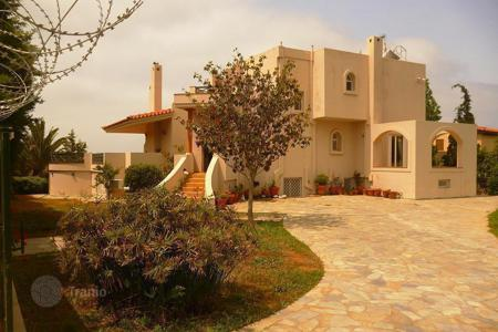 Luxury 5 bedroom houses for sale in Attica. Three-storey villa with sea views in the exclusive suburb of Athens