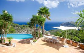 Property to rent in Sant Miquel de Balansat. Furnished villa with panoramic sea views and jacuzzi, San Miguel, Ibiza, Spain