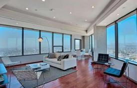 Modern apartment with panoramic city view in condominium, Los Angeles, USA for $1,675,000