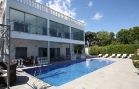Houses with pools for sale in Vallauris. Beautiful villa with a pool, a rooftop terrace and a sea view, Vallauris, France
