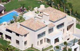 Houses for sale in Puerto Banús. Outstanding modern villa with a pool in Puerto Banus, Andalusia, Spain