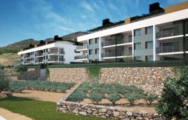Cheap residential for sale in Spain. Apartment with a terrace in a new low-rise residence with a pool, at the sea coast, Cap de Creus, El Port de la Selva, Girona