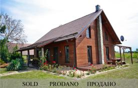 Houses for sale in Selo. This is a wonderful log cabin style cottage in the Goricko Park with three bedrooms and lovely far reaching views