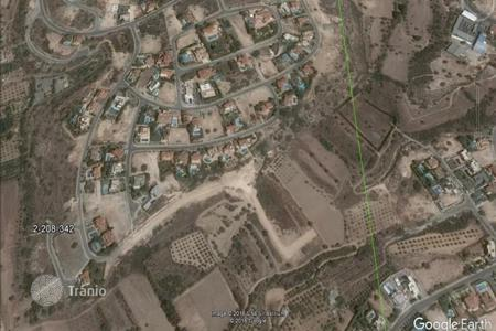 Land for sale in Limassol. Building Plot