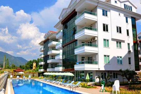 5 bedroom apartments for sale in Western Asia. Penthouse in a luxury complex near the river in Alanya