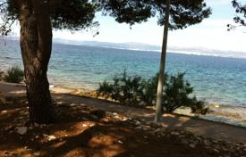 Coastal development land for sale in Split-Dalmatia County. Building land in Sutivan first line from the sea