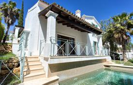 Bright villa with a terrace, a pool and a garden, near the beach, La Cala de Mijas, Costa del Sol, Spain for 550,000 €