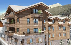 4 bedroom apartments for sale in Auvergne-Rhône-Alpes. Four-bedroom apartment with a balcony, in a new residence, close to ski lifts and slopes, Morzine, Alpes, France