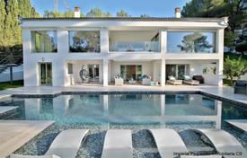 Spacious villa with a garden, a pool, a parking and terraces, Son Vida, Spain for 3,850,000 €