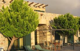 Furnished villa with a private garden, a pool, a parking, terraces and sea and mountain views, Chania, Greece for 700,000 €