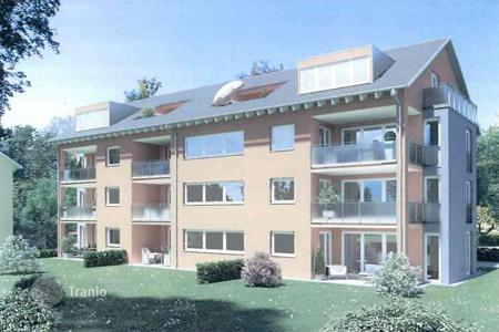 New homes for sale in Baden-Wurttemberg. Comfortable apartment with a terrace in a new building, Müllheim, Germany