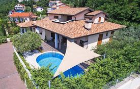 Houses with pools for sale in Primorje-Gorski Kotar County. Furnished villa with pool and large terrace, near the sea, Icici, Croatia